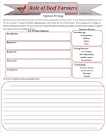 Role of Farmers Worksheets